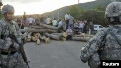 Повторно тензии на северот од Косово.
