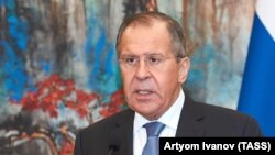 Рускиот министер за надворешни работи, Сергеј Лавров