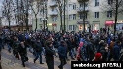 Марш в городе Молодечно