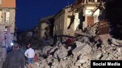 Amatrice (Italy) earthquake