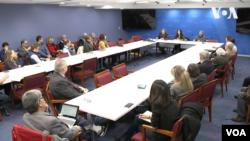 Презентація книжки Марсі Шор у Вашингтоні