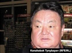 Оппозиционный политик Заманбек Нуркадилов. Алматы, 3 февраля 2005 года.