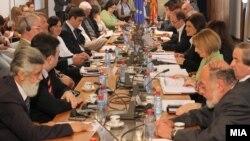 Седница на собраниската Комисија за европски прашања.