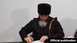 Нохчийчоьнан муфтий Межиев Салахь