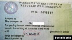 Нині без такого дозволу на виїзд за кордон громадянин Узбекистану цього зробити не може