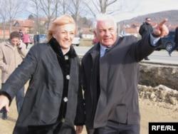 Verica Kalanović i Veroljub Stevanović