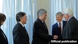 Германиянын Тышкы иштер министринин Кыргызстандагы расмий жолугушуулары.