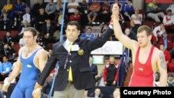 عکس اختصاصی از محل رقابتها؛ شکست فرشاد علیزاده مقابل پتر نواک از جمهوری چک