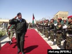 Меймене қаласындағы ауған үкіметі әскері. 9 шілде 2015 жыл. (Көрнекі сурет)