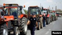 Protest traktorista u Srbiji, fotoarhiv
