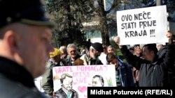 Protestima ne možete ljude otjerati sa vlasti osim ako ne želite da napravite revoluciju: Protesti u Sarajevu 2014. godine