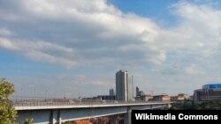 Нусельский мост соединяет районы Праги, которые расположены на двух холмах