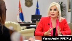 Wakil Perdana Menteri Serbia Zorana Mihajlovic
