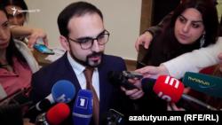 Вице-премьер Тигран Авинян, Ереван, 30 января 2019 г.