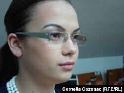 Mihaela Gherasim, journalist, Chisinau