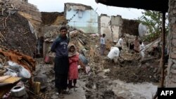 مقامات: از اثر بارندگیهای اخیر در فاریاب ۱۱۱ تن کشته شدهاند