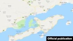 Iran -- Qeshm Map