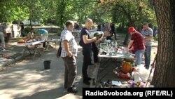 Блошиный рынок в Донецке. Иллюстративное фото.