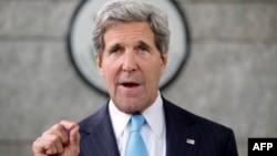 Государственный секретарь США Джон Керри. 2 июля 2013 года.