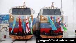 Ադրբեջան - Բաքու-Թբիլիսի-Կարս երկաթուղու հանդիսավոր բացումը, 30-ը հոկտեմբերի, 2017թ․