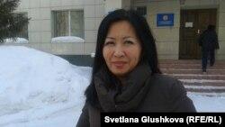 Перизат Кусаинова, представитель компании «КазАгроХолдинг». Астана, 12 марта 2014 года.