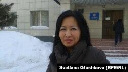 «ҚазАгроХолдинг» компаниясының өкілі Перизат Құсаинова. Астана, 12 наурыз 2014 жыл.