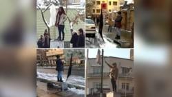 گفت و گو با دختران خیابان انقلاب؛ خبرسازان سال در نظرخواهی رادیو فردا