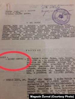 Presuda protiv Envera Zornića