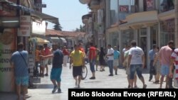 Tуристичка сезона во Охрид.