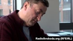 Український бізнесмен Василь Данилів у своєму офісі у Празі