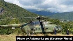 До села сегодня можно добраться только на вертолете