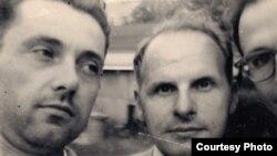 Л. Леман, М. Сяднёў і Я. Юхнавец. Саўт-Рывэр, 1953
