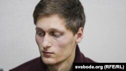 Журналист Павел Добровольский после избиения сотрудниками минской милиции