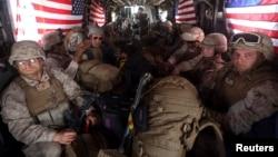 ارشیف، افغانستان کې امریکايي سرتیري