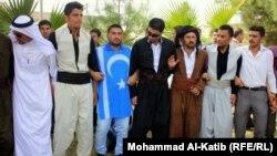 دبكة شعبية لطلبة من جامعة الموصل