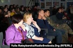 На презентации фильма «Летопись «Черного тюльпана», Днепр, 6 мая 2019 года