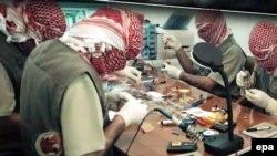 Grupi Ansar al-Islam duke prodhuar armatim