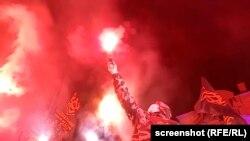 Протест під будинком сина відстороненого першого заступника секретаря РНБО Олега Гладковського, Козин, Київщина, 26 лютого 2019 року