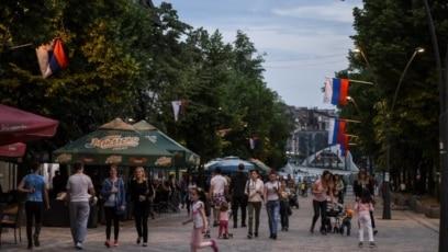 Viznom liberalizacijom nisu obuhvaćeni pasoši Koordinacione uprave, koje ima većina Srba na severu Kosova (Mitrovica, maj 2018)
