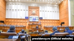 Președintele Klaus Iohannis în Parlament