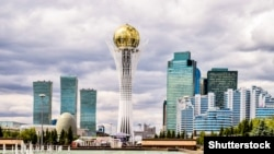 Вид на столицу Казахстана. Иллюстративное фото.