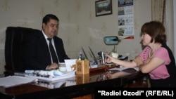 Октябри соли 2013 Сафаров ба Радиои Озодӣ мусоҳиба додааст
