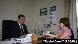 Интервью Радио Озоди с Сафаром Сафаровым. Октябрь, 2013