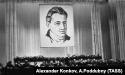 Урочистий вечір пам'яті на честь 200-річчя від дня народження засновнику нової української літератури Івана Котляревського (1769–1838). Москва, 16 вересня 1969 року