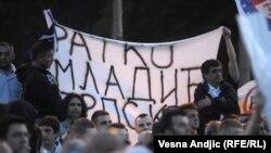 Miting podrške Ratku Mladiću u Beogradu, maj 2011.