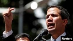 Лидер оппозиции Венесуэлы Хуан Гуайдо.