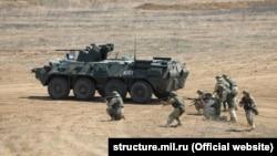 Российские военные учения в Крыму, 2020 год. Иллюстративное фото