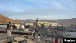 Jemen, qyteti Mukalla, 24 prill 2016