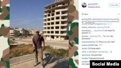 Профиль Ильи Горелых, который предположительно сражается добровольцем в Сирии, фото - Руслан Левиев