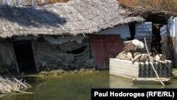 La Cotul Morii după inundații